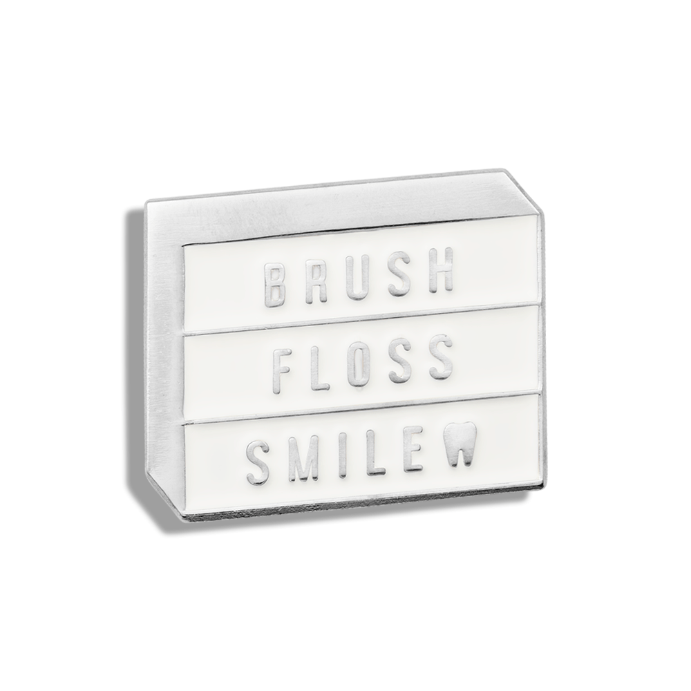 Brush, Floss, Smile Lightbox - V Coterie