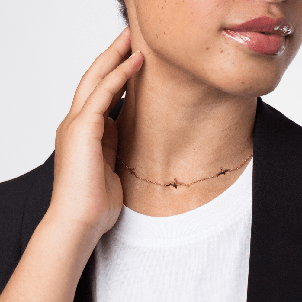 EKG Choker Necklace - V Coterie