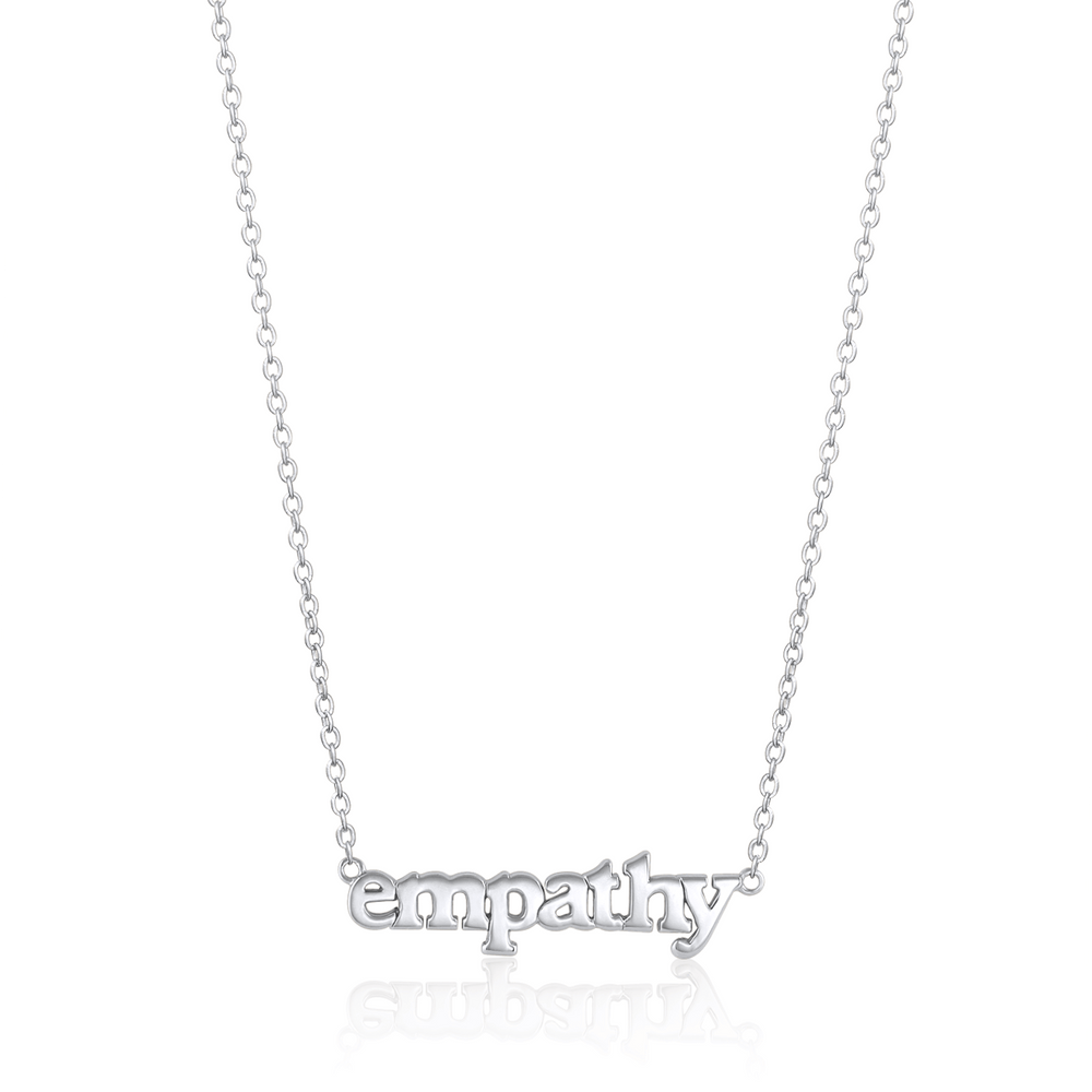 Empathy Necklace - Sterling Silver