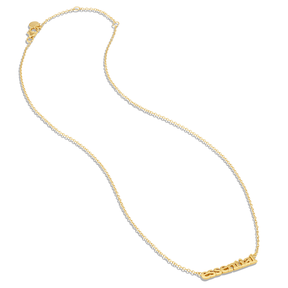Essential Necklace - Gold Vermeil - V Coterie