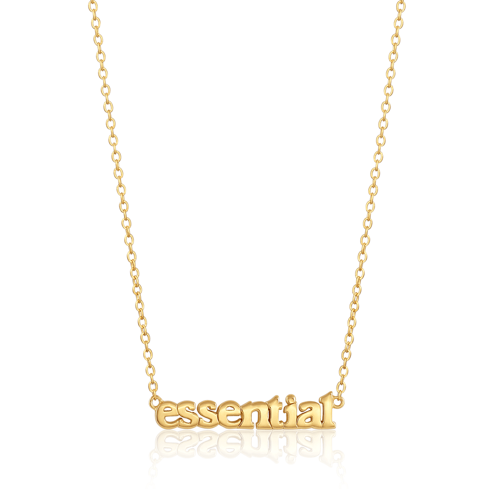 Essential Necklace - Gold Vermeil