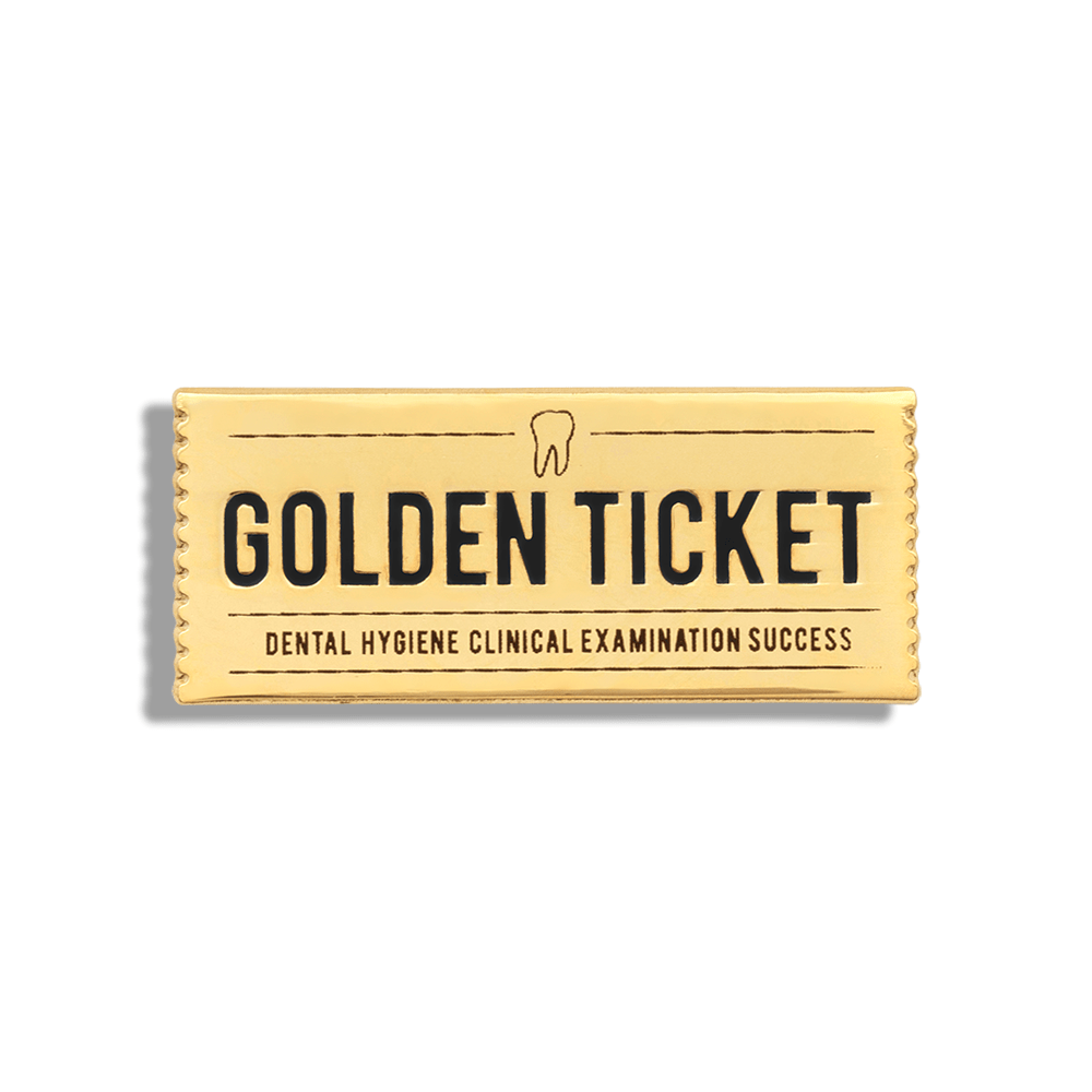 Golden Ticket (Dental Hygiene) - V Coterie