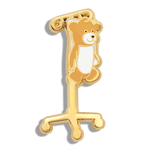 CHARITY PIN | Medi Teddy on IV Cart