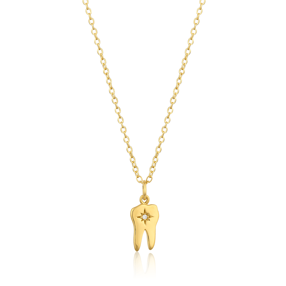 North Star Tooth Necklace