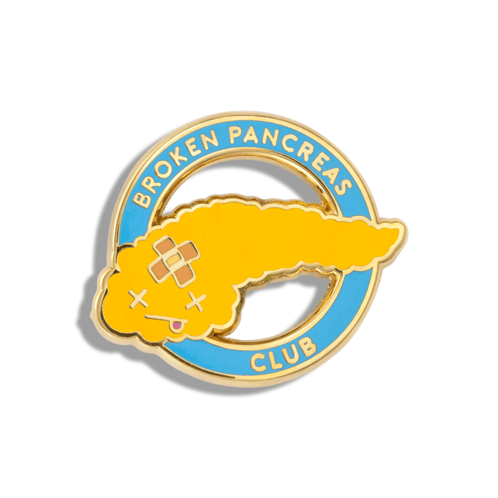 CHARITY PIN x Dr. Mike Herring | Broken Pancreas Club