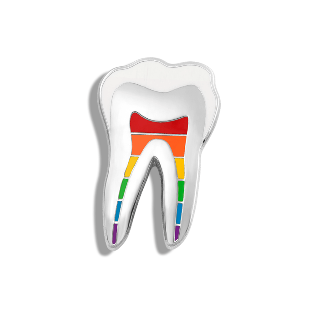CHARITY PIN | Rainbow Tooth