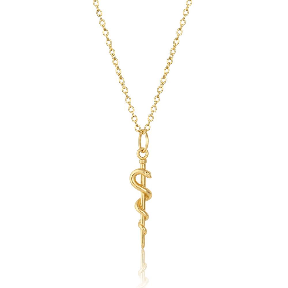Rod of Asclepius Charm - V Coterie