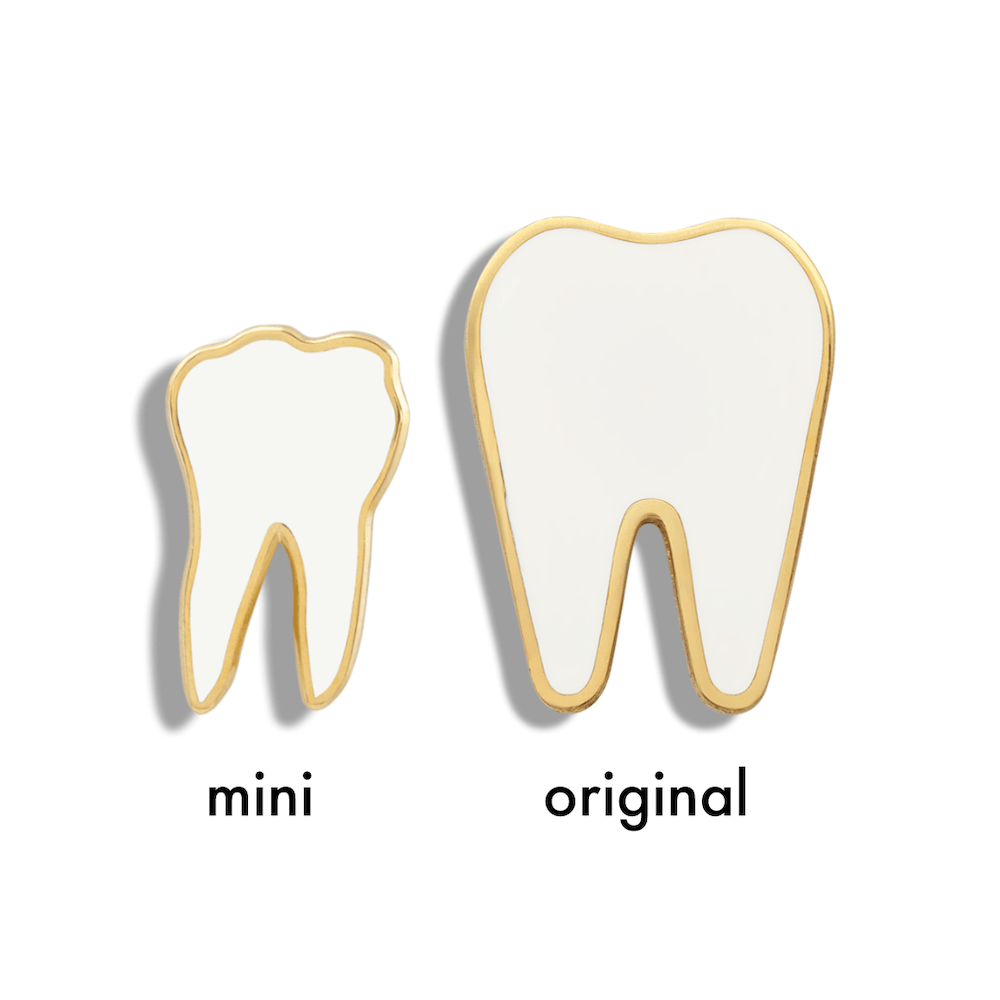 Mini Tooth (White Enamel)