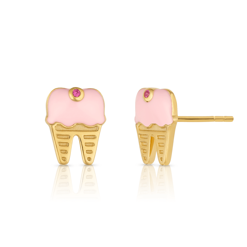 Sweet Tooth Studs - V Coterie