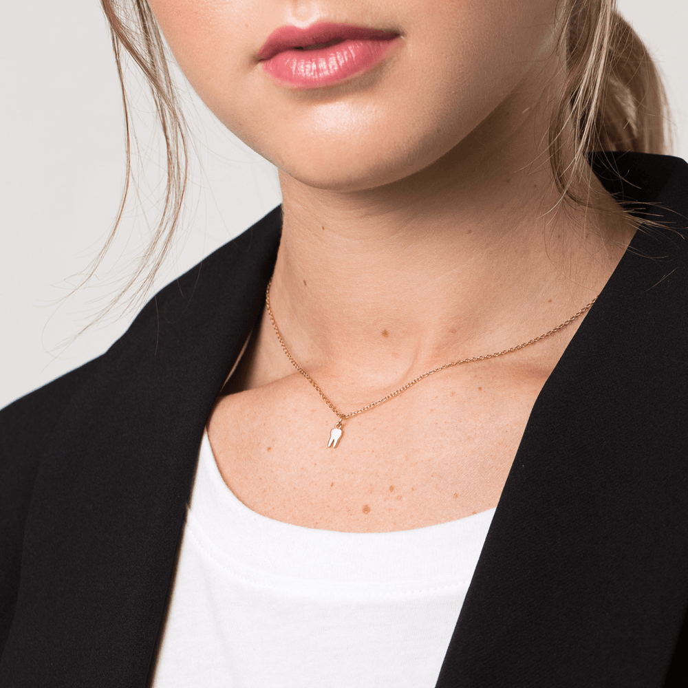 Tiny Tooth Necklace - V Coterie