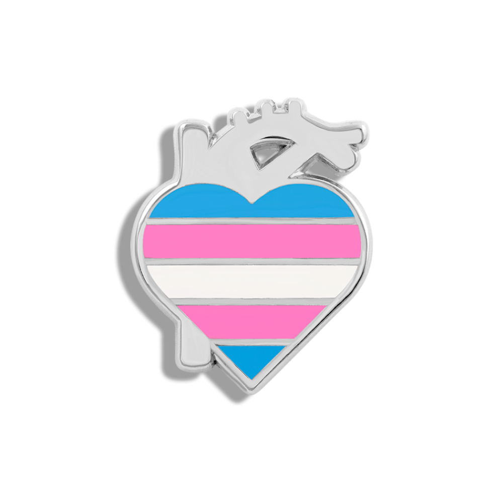 CHARITY PIN | Trans Heart - V Coterie