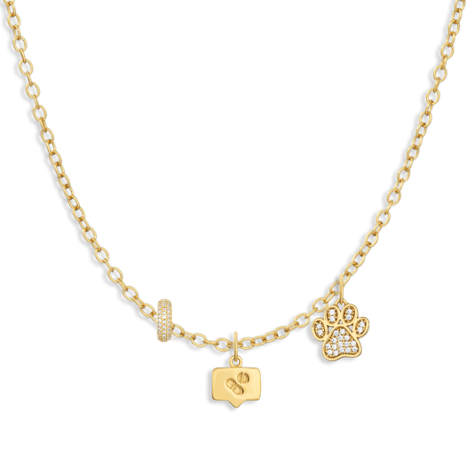 Charm Necklace Builder - Customer's Product with price 174.00 - V Coterie