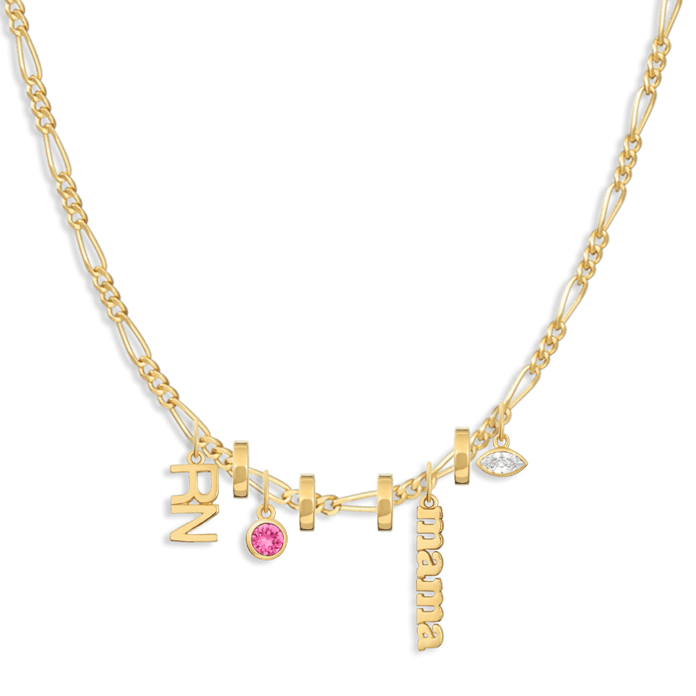 Charm Necklace Builder - Customer's Product with price 340.00 - V Coterie