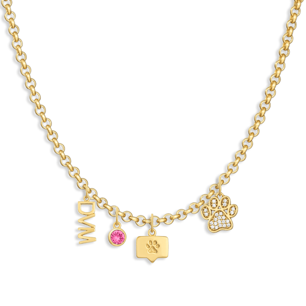 Charm Necklace Builder - Customer's Product with price 212.00 - V Coterie