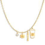 Charm Necklace Builder - Customer's Product with price 218.00 - V Coterie