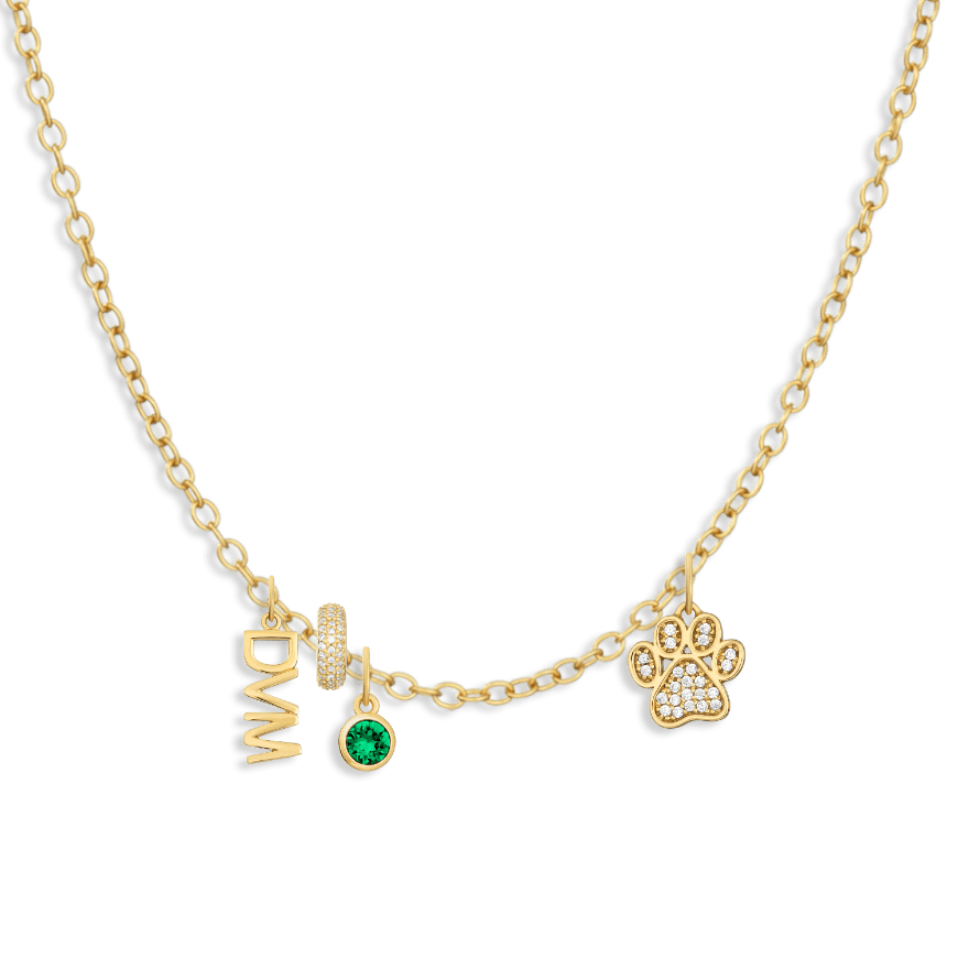 Charm Necklace Builder - Customer's Product with price 206.00 - V Coterie