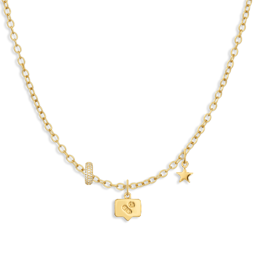 Charm Necklace Builder - Customer's Product with price 164.00 - V Coterie