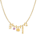 Charm Necklace Builder - Customer's Product with price 376.00 - V Coterie