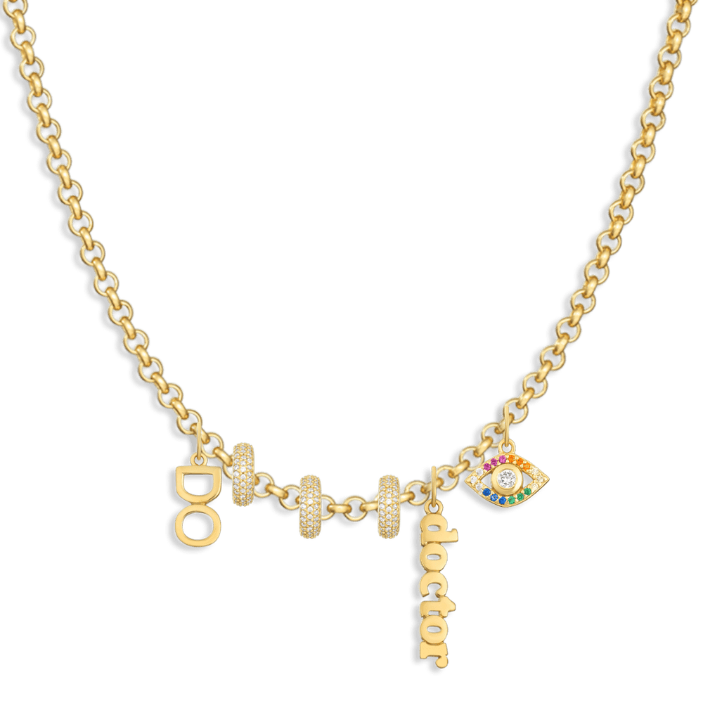 Charm Necklace Builder - Customer's Product with price 302.00 - V Coterie