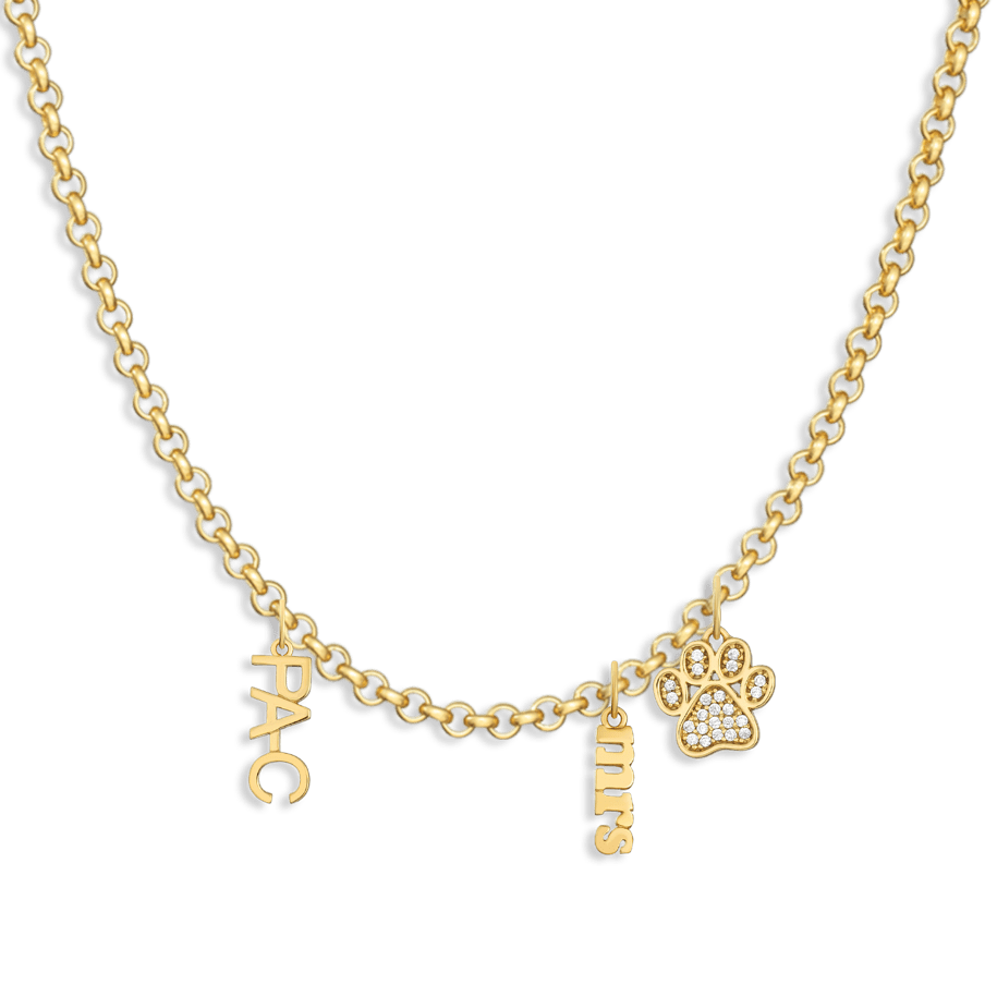 Charm Necklace Builder - Customer's Product with price 182.00 - V Coterie