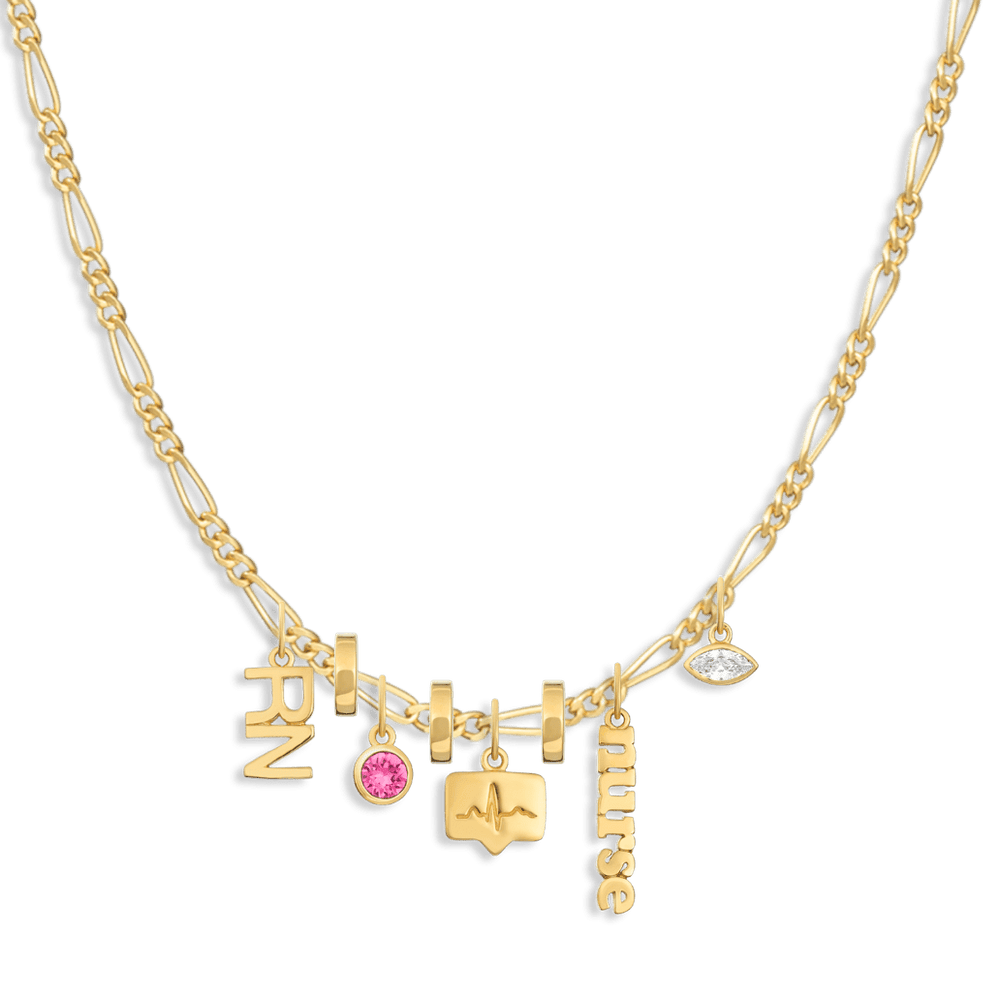 Charm Necklace Builder - Customer's Product with price 348.00 - V Coterie