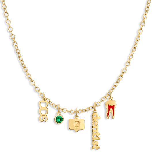 Charm Necklace Builder - Customer's Product with price 254.00 - V Coterie