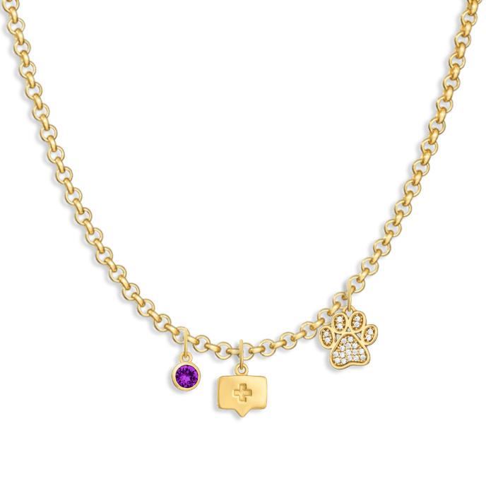 Charm Necklace Builder - Customer's Product with price 172.00 - V Coterie