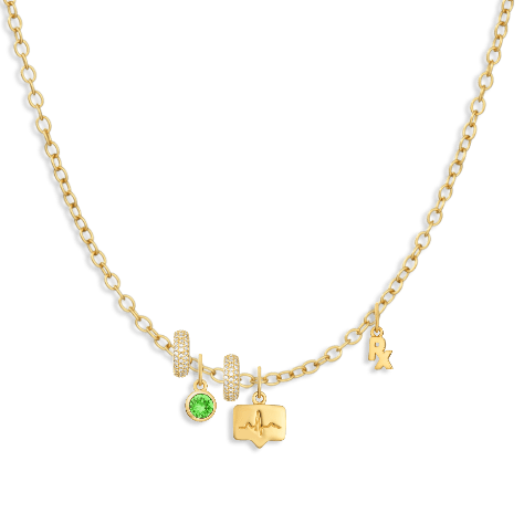 Charm Necklace Builder - Customer's Product with price 236.00 - V Coterie