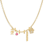 Charm Necklace Builder - Customer's Product with price 344.00 - V Coterie