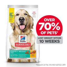 Load image into Gallery viewer, HILL'S SCIENCE DIET PERFECT WEIGHT ADULT DRY DOG FOOD 12.9KG