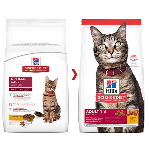 SCIENCE DIET FELINE OPTIMAL CARE 4KG