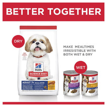 Load image into Gallery viewer, HILL'S SCIENCE DIET SENIOR ADULT 7+ SMALL BITES DRY DOG FOOD 2KG