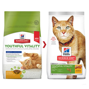 SCIENCE DIET FELINE YV 7+ CHICK 2.72KG