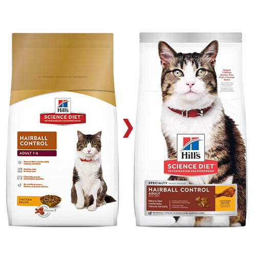 SCIENCE DIET FELINE HAIRBALL ADULT 2KG