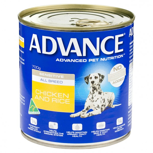ADVANCE DOG WET SENSITIVE 700G