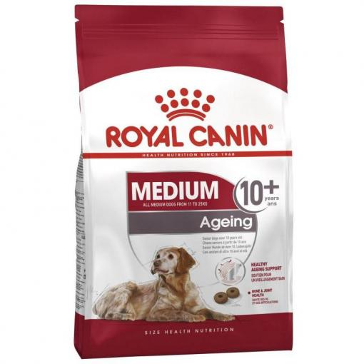ROYAL CANIN DOG MEDIUM AGEING 10+ 15KG
