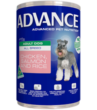 Load image into Gallery viewer, ADVANCE DOG WET CHKN SLM 410G