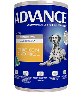 ADVANCE DOG WET SENSITIVE 410G