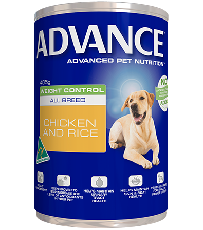 ADVANCE DOG WET WEIGHT 405G