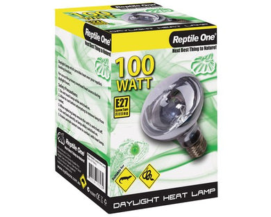 REPTILE ONE HEAT LAMP DAY LIGHT 100W