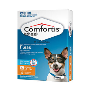 COMFORTIS TABS ORANGE 6PK