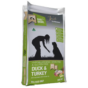 MEALS FOR MUTTS GRAIN FREE DUCK & TURKEY 20KG