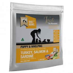 MEALS FOR MUTTS PUPPY TURKEY, SALMON & SARDINE 2.5KG