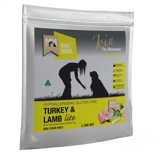 MEALS FOR MUTTS TURKEY LAMB LITE 2.5KG