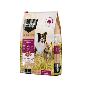 BLACK HAWK GRAIN FREE LAMB 7KG