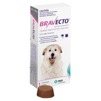 BRAVECTO 1TAB XL DOG PPL