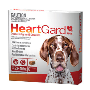 HEARTGARD BROWN PLUS 6PK