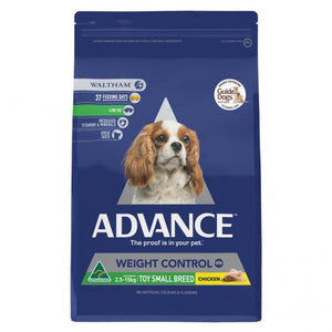 ADVANCE DOG WEIGHT SMALL BRD 2.5KG