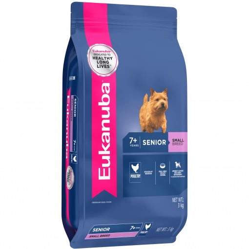 EUKANUBA SENIOR SM BREED 3KG