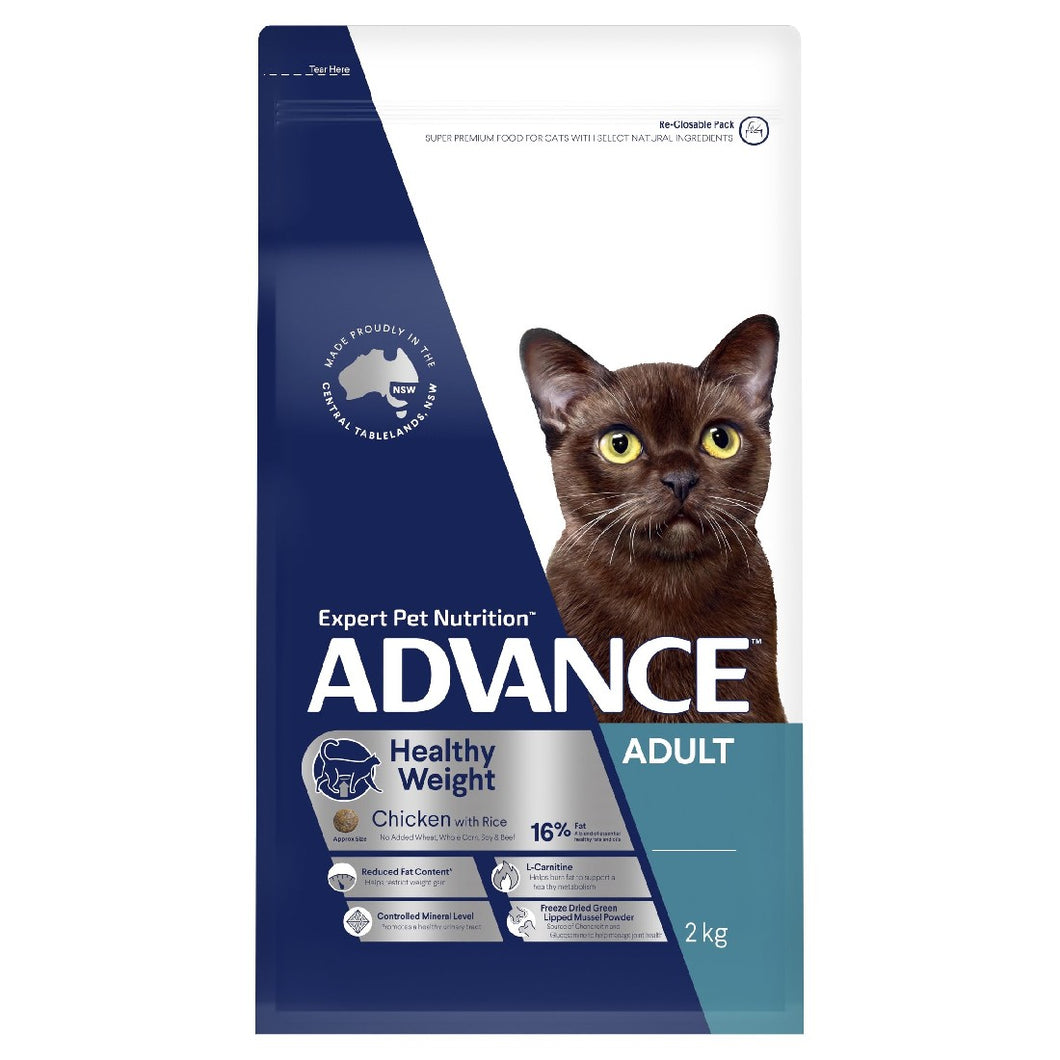 ADVANCE CAT HEALTHY WEIGHT 2KG